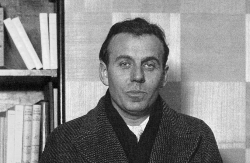 "Antisemitic French author Louis-Ferdinand ""Celine"" Destouches (photo credit: NATIONAL LIBRARY OF FRANCE)"