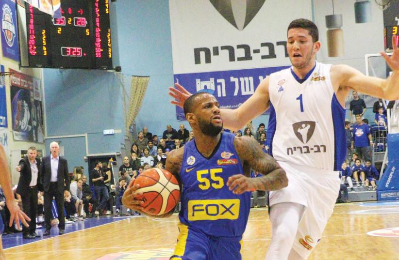 Maccabi Tel Aviv's Pierre Jackson  (photo credit: ADI AVISHAI)