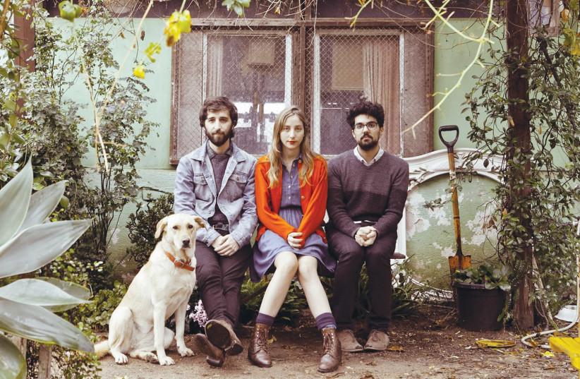 The band Jane Bordeaux (Doron Talmon is in the center). (photo credit: CHEN TAMARI)