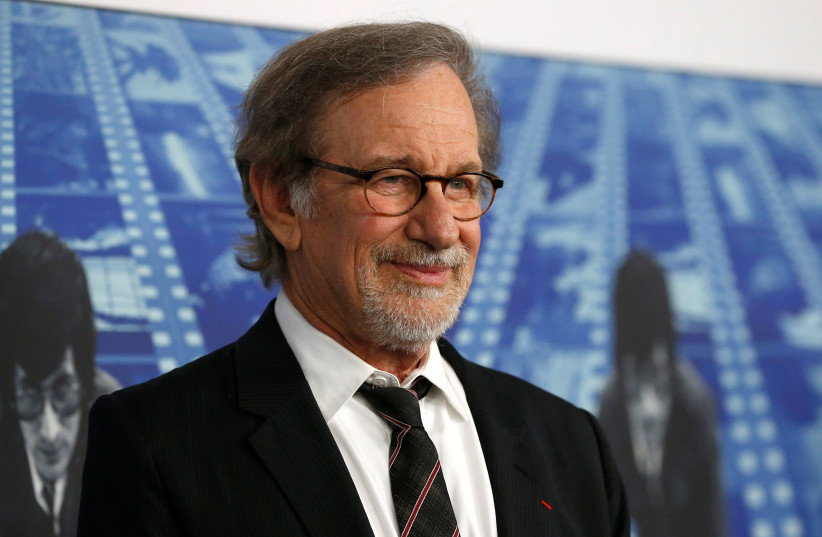 Director Steven Spielberg poses at the premiere of the HBO documentary film 'Spielberg' in Los Angeles, California, US. (photo credit: REUTERS)