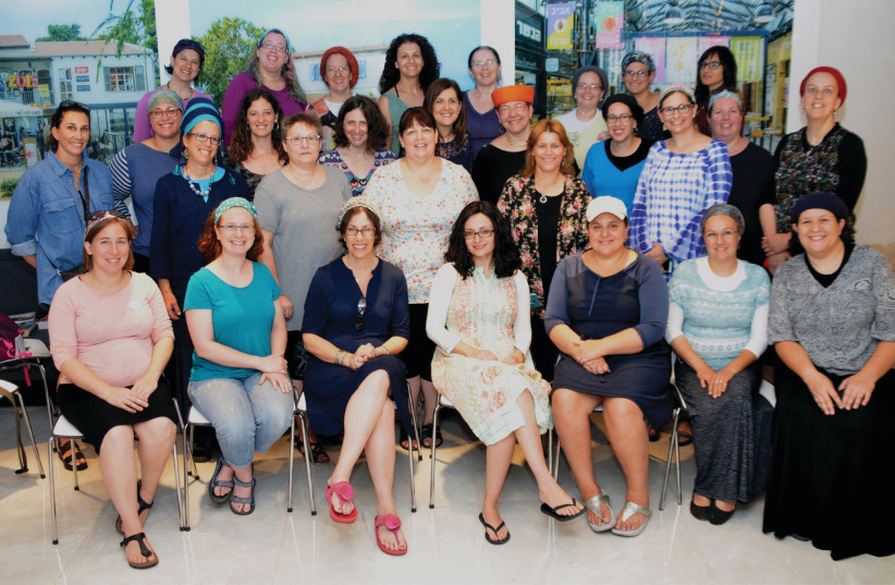 The Israeli Women Entrepreneurs' Network retreat in May 2017 (photo credit: SHARON MARKS ALTSHUL)