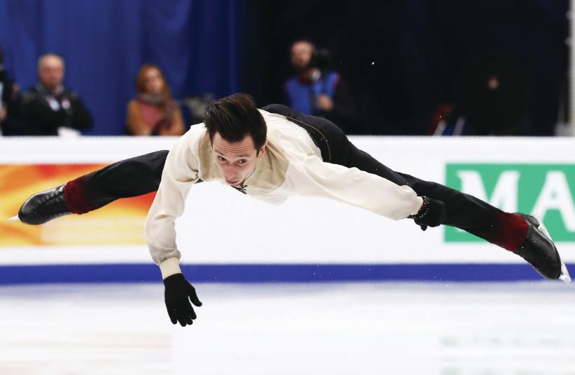 Israel figure skater Alexei Bychenko (photo credit: REUTERS)