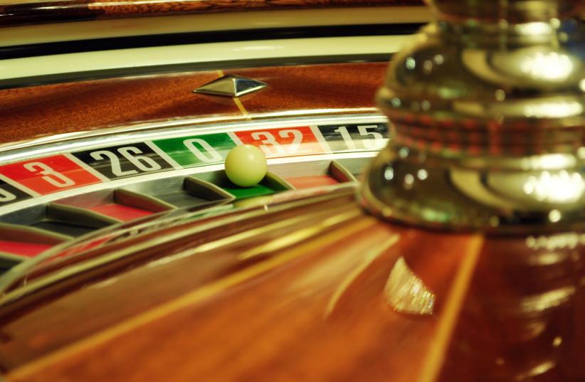 Roulette table (photo credit: INGIMAGE)