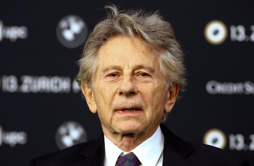"""Director Roman Polanski arrives to present his movie """"D'apres une histoire vraie"""" at the Zurich Film Festival in Zurich, Switzerland October 2, 2017.  (photo credit: REUTERS/ARND WIEGMANN)"""