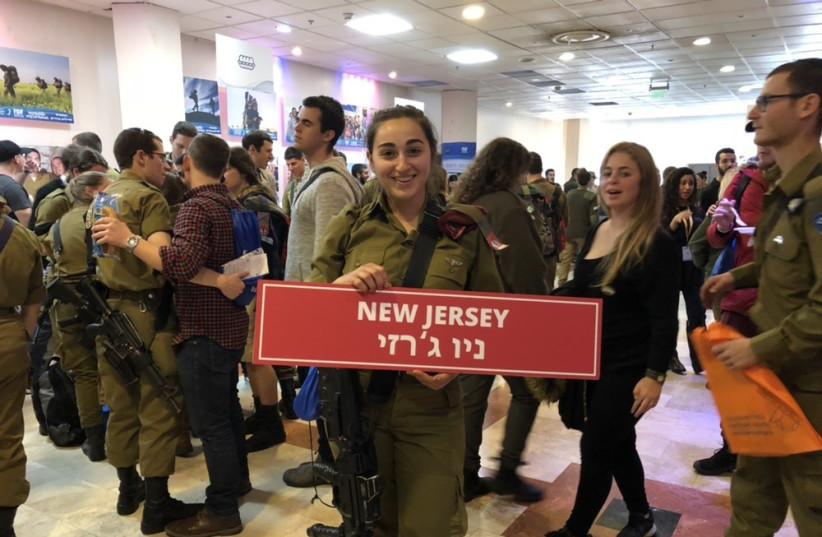 Lone soldier Alexis Wasserman (photo credit: ANNA AHRONHEIM)