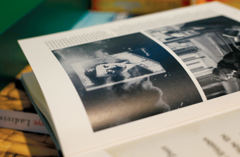A copy of Hitler's 'Mein Kampf' on sale in Germany. (photo credit: REUTERS)