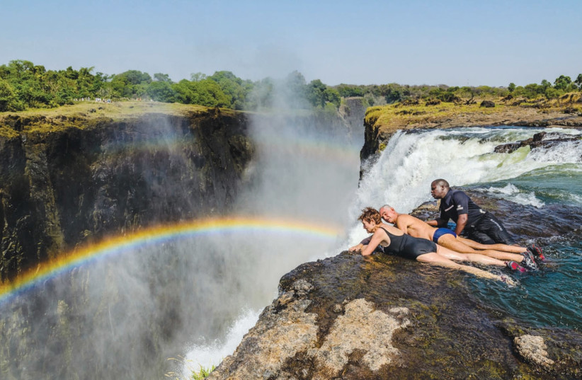 VICTORIA FALLS is just one of the many reasons to visit Zambia (photo credit: HILARY ZETLER)