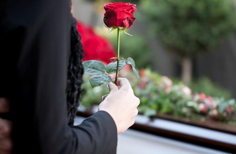 Funeral (illustrative) (photo credit: INGIMAGE)