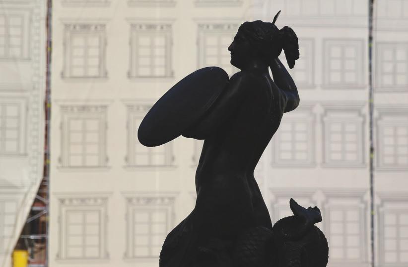 The Warsaw Mermaid  (photo credit: REUTERS)