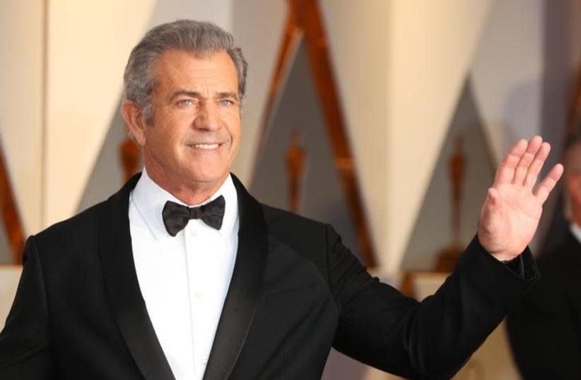 Actor Mel Gibson (photo credit: REUTERS/MIKE BLAKE)