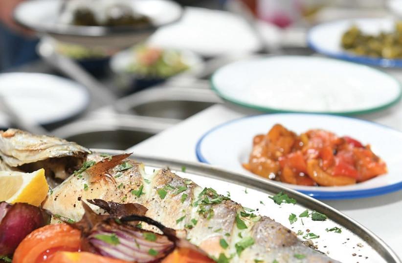 Greek food from Souvlaki  (photo credit: Courtesy)