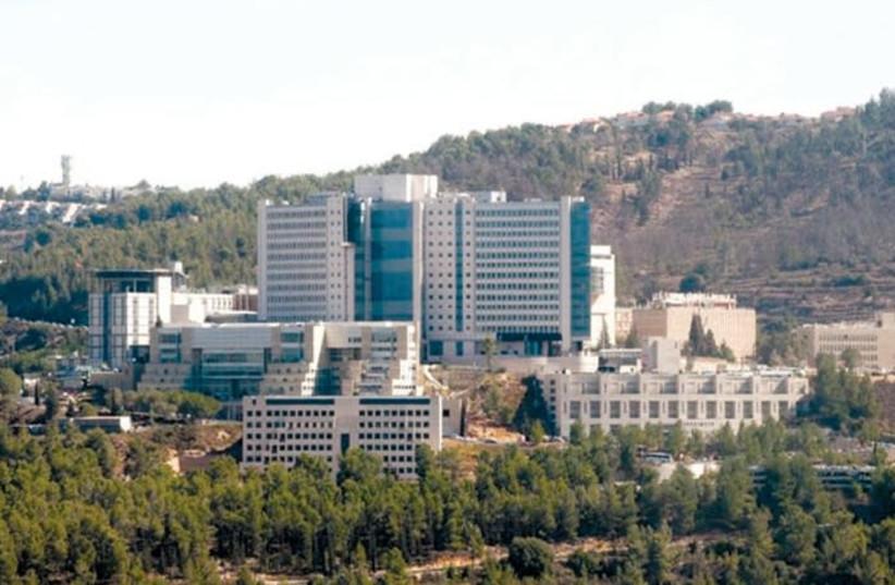 THE HADASSAH-UNIVERSITY Medical Center campus is seen in Ein Kerem. (photo credit: Courtesy)
