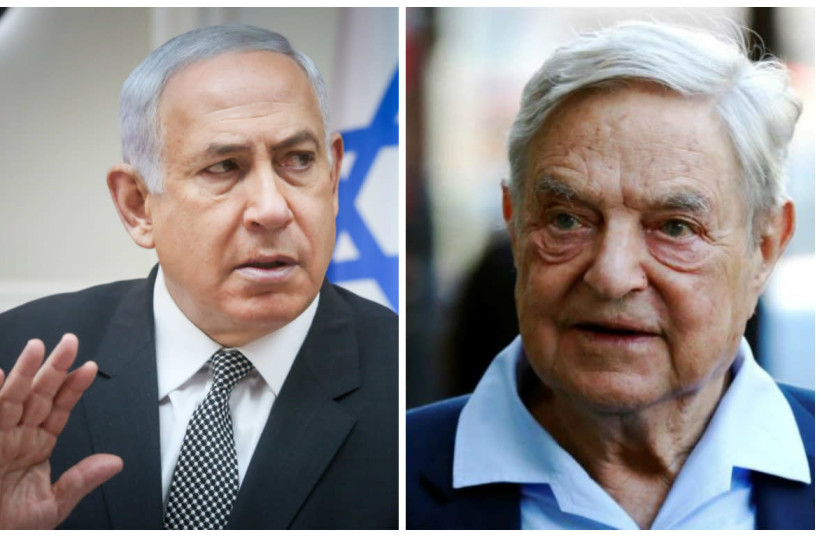 Netanyahu blames Soros for Israel anti-deportation campaign