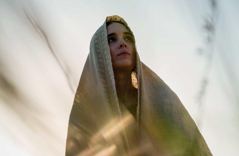 Rooney Mara as the title role in Mary Magdalene (photo credit: COURTESY OF TRANSMISSION FILMS)