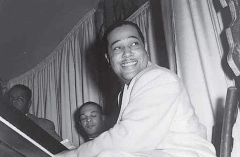 Composer, pianist and bandleader Duke Ellington at the Hurricane Club in New York in 1943. (photo credit: Wikimedia Commons)