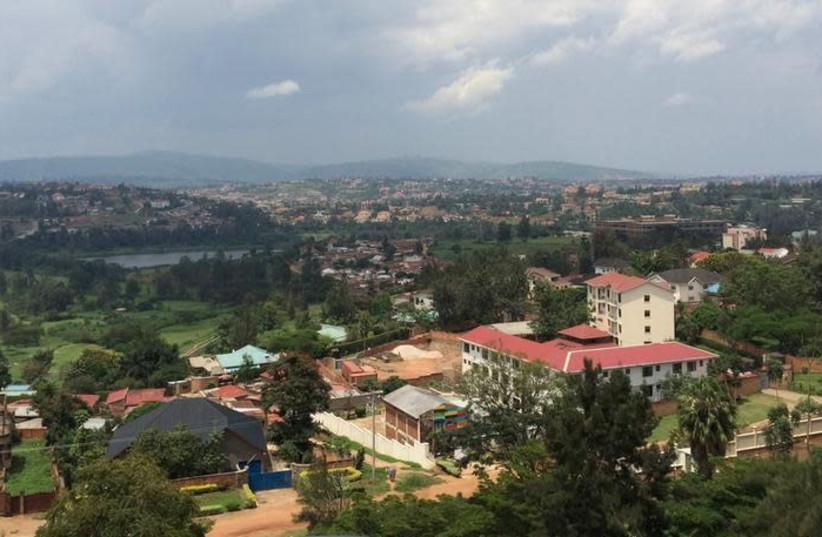 A general view of Rwanda's capital Kigali, March 26, 2014 (photo credit: EDMUND BLAIR/REUTERS)