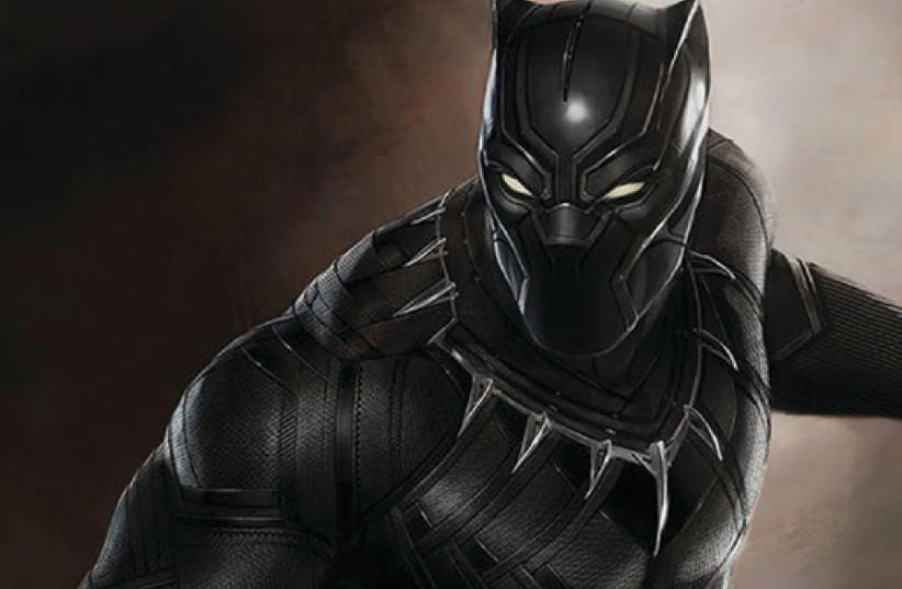 Scene from the fantasy film 'Black Panther' (photo credit: Courtesy)