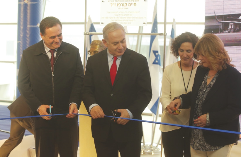(photo credit: MARC ISRAEL SELLEM/THE JERUSALEM POST)