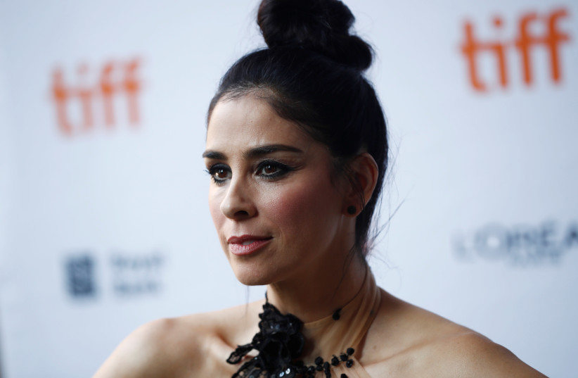 Comedian and actress Sarah Silverman (photo credit: REUTERS)