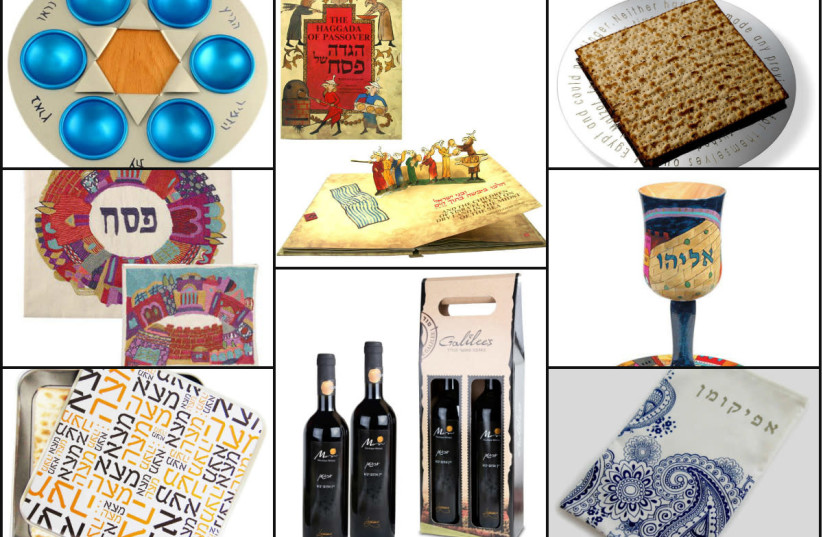 Eight gifts for Passover 2018 (photo credit: JWG)
