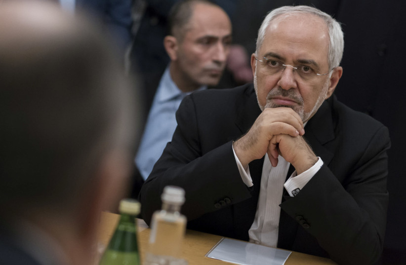 Iranian Foreign Minister Mohammad Javad Zarif  (photo credit: REUTERS)