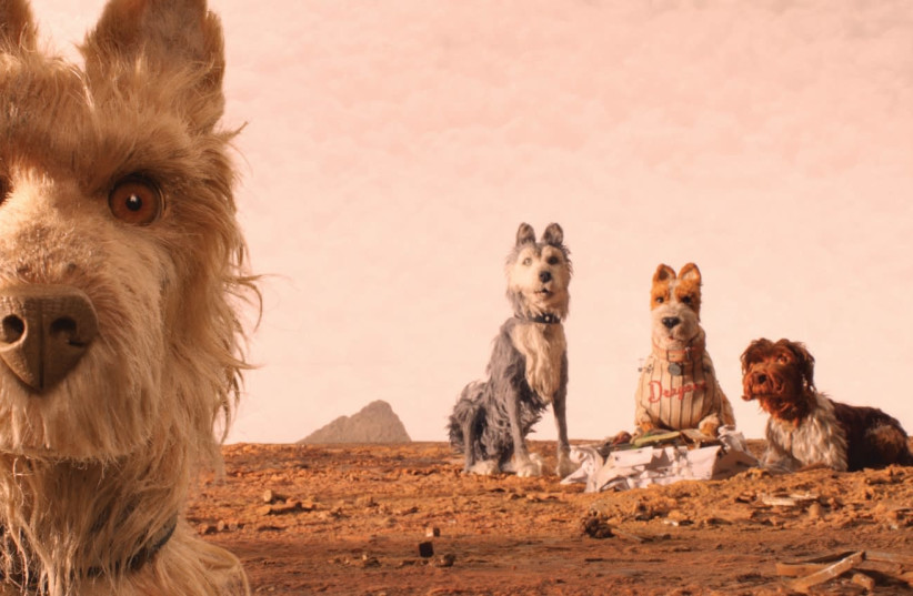 Stills from animated dystopian fable 'Isle of the Dogs.' (photo credit: TWENTIETH CENTURY FOX)