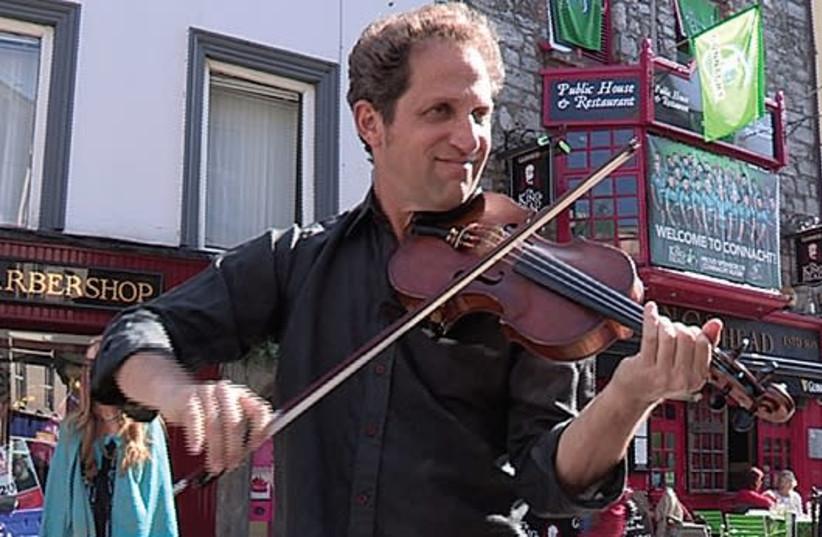 Violinist-filmmaker Daniel Hoffman (photo credit: NATALIE MUALLEM)