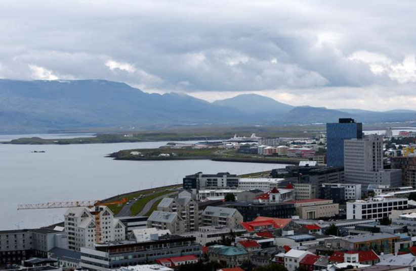 A general view of Reykjavik, Iceland (photo credit: REUTERS/MICHAELA REHLE)