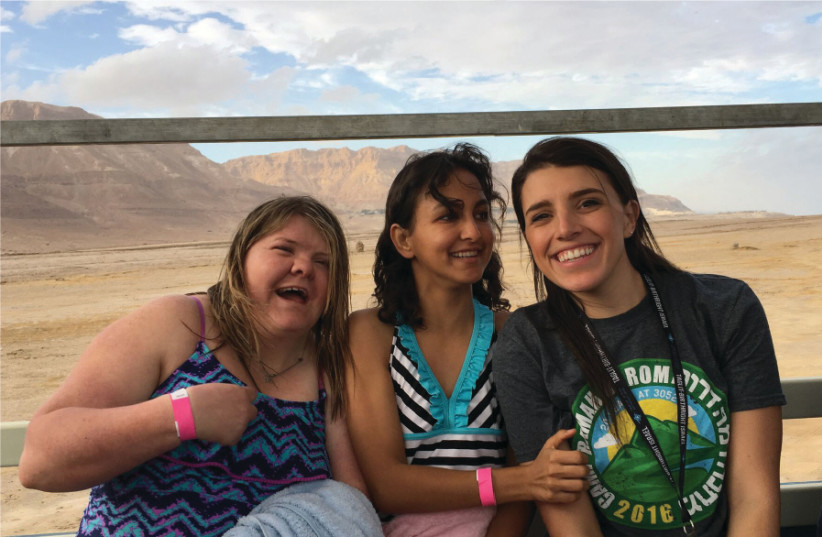 Birthright Israel trip for Special Needs Adult (photo credit: LIZ OFFEN)