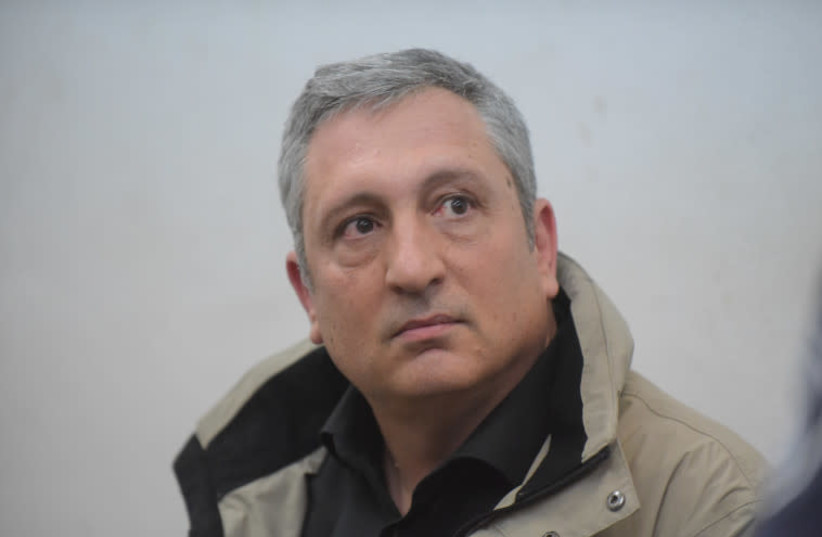 Former Netanyahu aide Nir Hefetz (photo credit: AVSHALOM SASSONI/MAARIV)