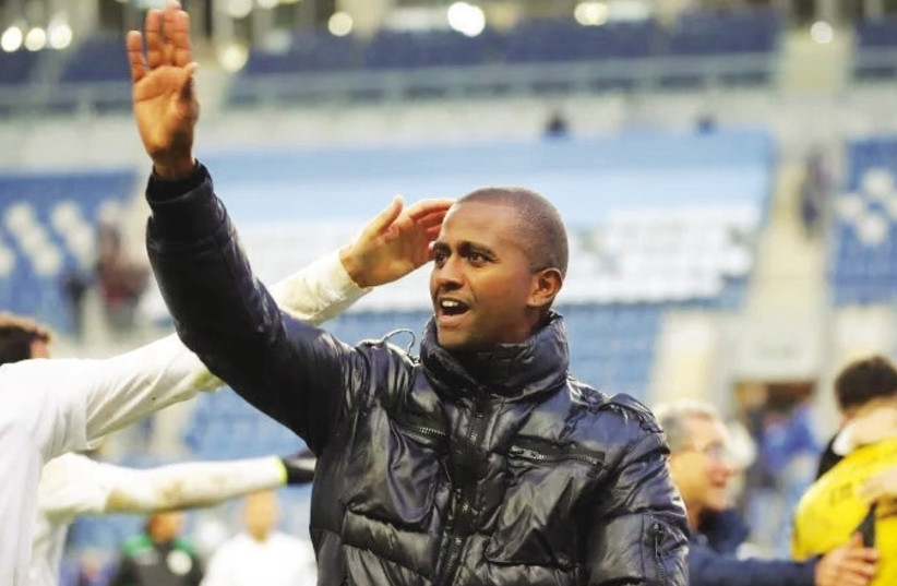 Messay Dego became the first Ethiopian-Israeli head coach to guide a team in the Premier League (photo credit: UDI ZITIAT)