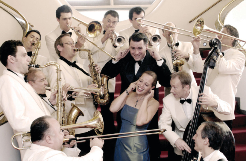 The Swing Dance Orchestra (photo credit: UWE HAUTH)