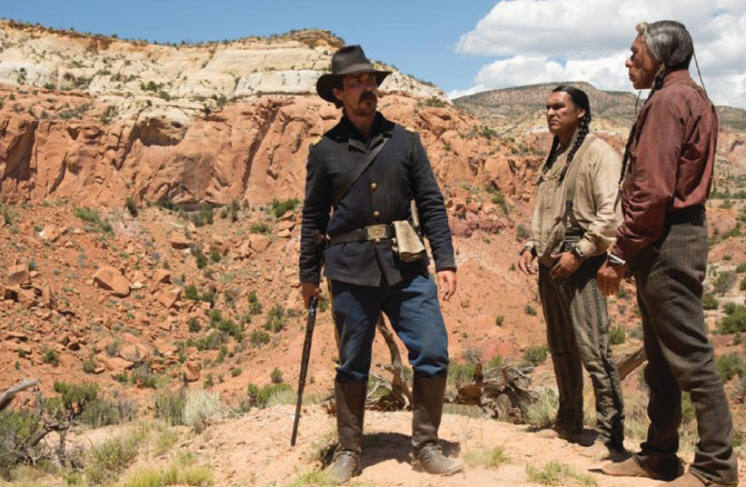 A scene from the film Hostiles (photo credit: Courtesy)