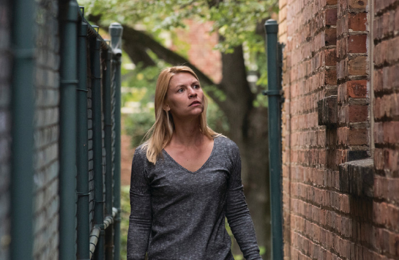 A scene from Homeland (photo credit: COURTESY YES)
