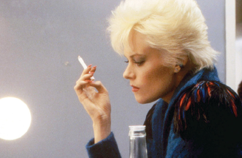 A scene from the 1984 thriller Body Double, starring Melanie Griffith (photo credit: Courtesy)