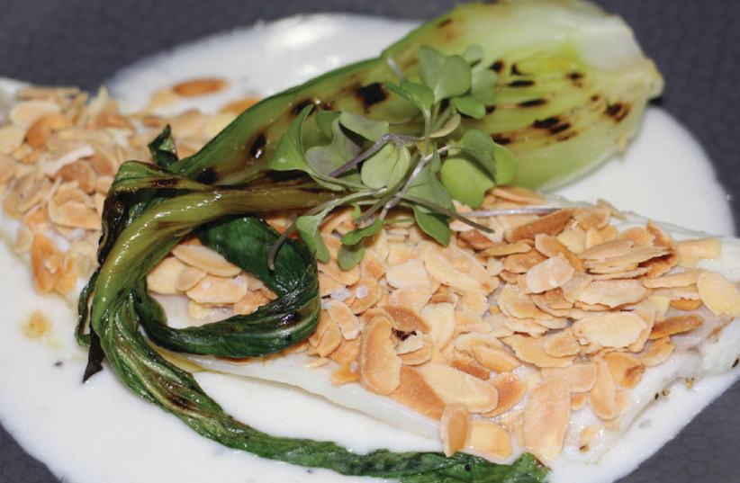 A dish from French food week at The Olive Leaf (photo credit: Courtesy)
