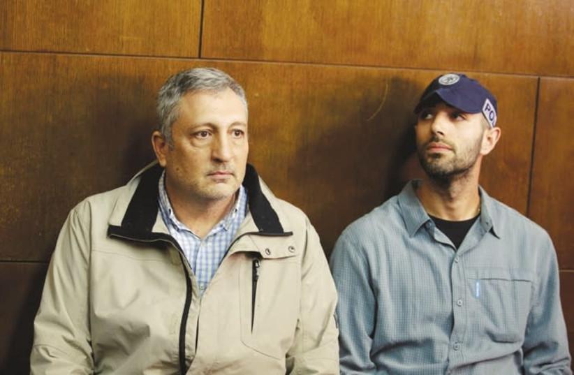 Former Netanyahu media adviser Nir Hefetz (photo credit: AMIR COHEN/REUTERS)