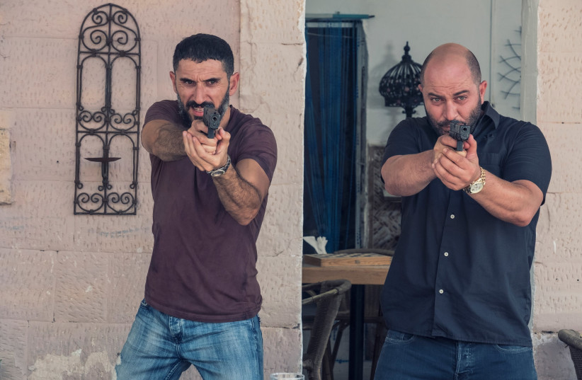 Doron Ben-David and Lior Raz star in Fauda (photo credit: RONEN ACKERMAN)