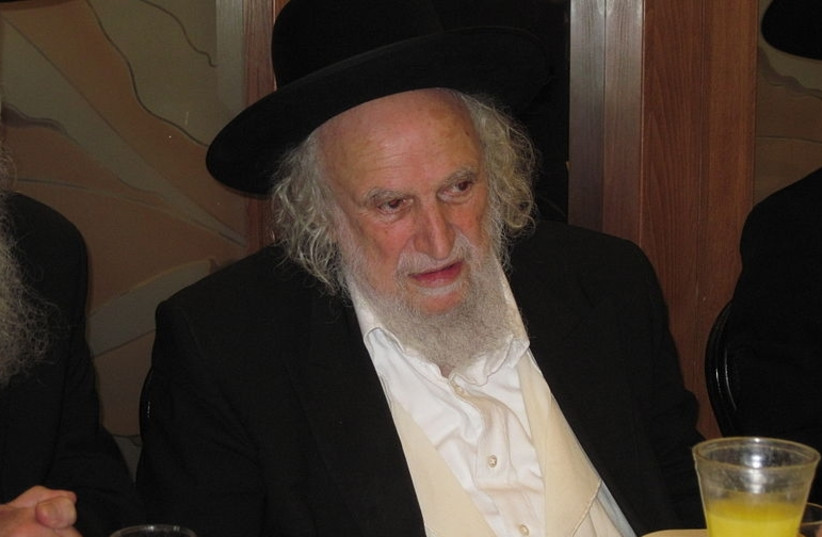 Rabbi Shmuel Auerbach, head of the Jerusalem Faction (photo credit: YONINAH/ WIKIMEDIA COMMONS)