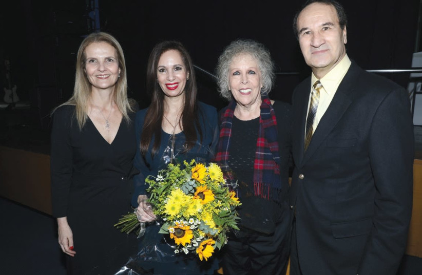 FROM LEFT: Mickey Dahav, CEO of the Spirit of Israel; Tirza Brody; Ofra Fuchs Manor and Tal Brody. (photo credit: Courtesy)