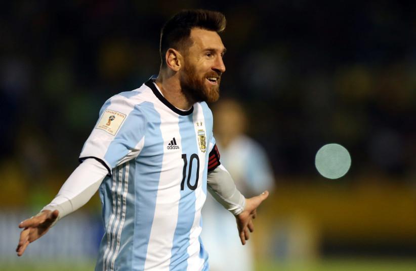 Argentina's Lionel Messi (photo credit: REUTERS)
