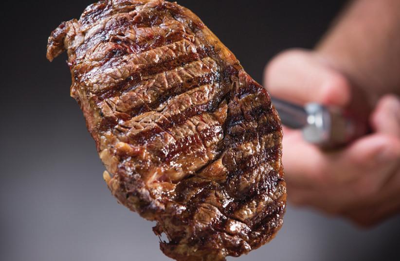 Steak from Gillis Steak House (photo credit: Courtesy)