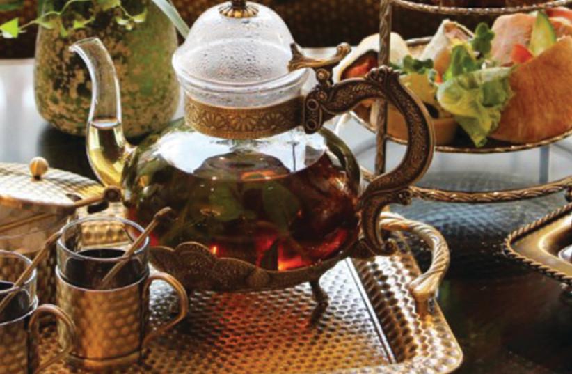 Tea at the Hilton hotel in Jerusalem (photo credit: Courtesy)