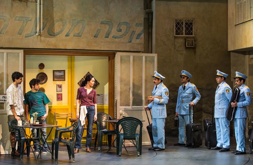 """""""The Band's Visit"""" on Broadway (photo credit: MATTHEW MURPHY)"""