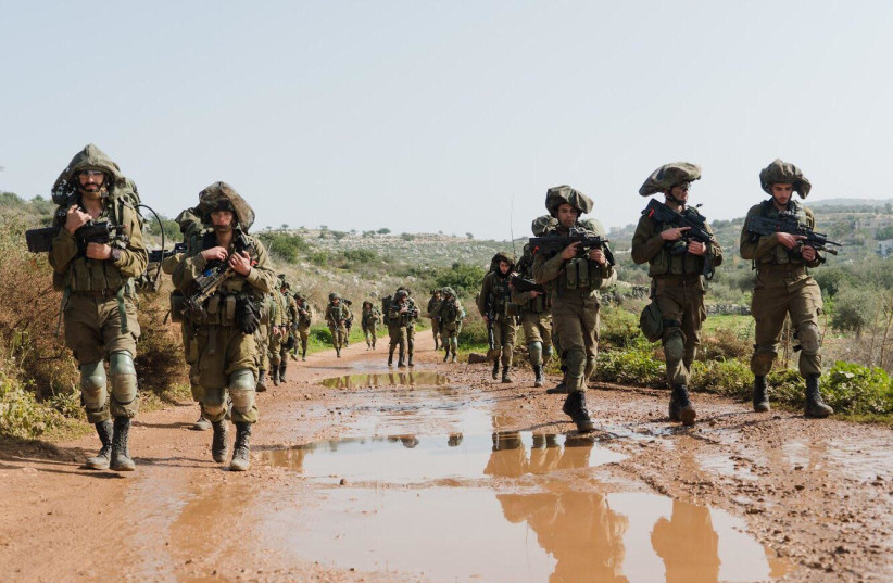 Israel prepares for potential war in the north. (photo credit: IDF)