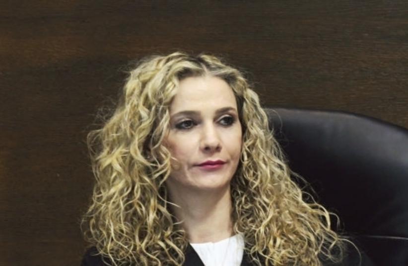 Tel Aviv Magistrate's Court Judge Ronit Pozansky-Katz has been effectively suspended (photo credit: AVSHALOM SASSONI/MAARIV)