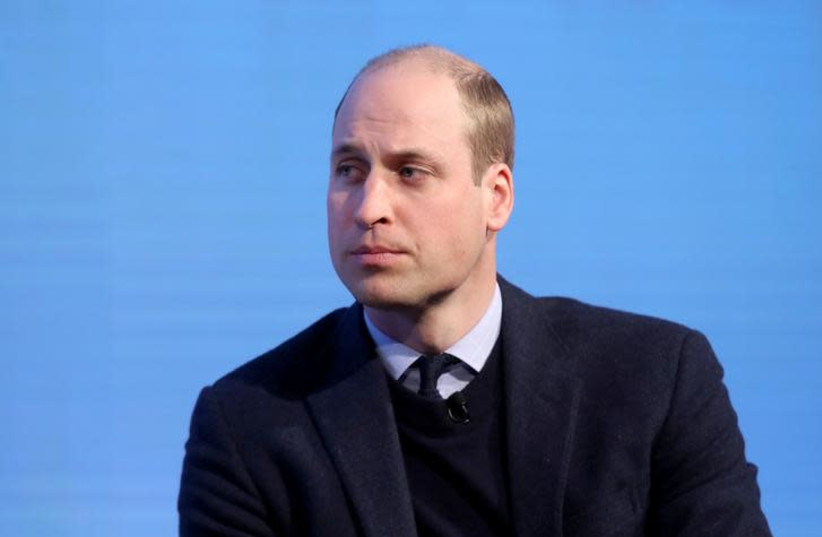 Britain's Prince William attends the first annual Royal Foundation Forum held at Aviva in London, February 28, 2018 . REUTERS/Chris Jackson/Pool (photo credit: REUTERS/CHRIS JACKSON)