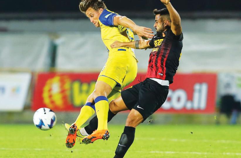 Ashdod SC vs Maccabi Tel Aviv (photo credit: LIRON MOLDOVAN /BSL)