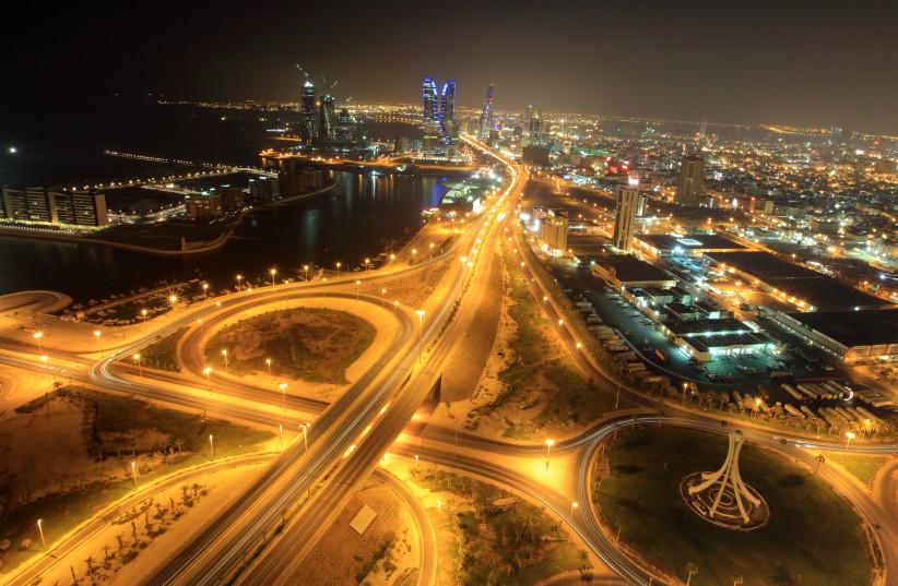 City view of Bahrain's capital Manama (photo credit: HAMAD I MOHAMMED / REUTERS)