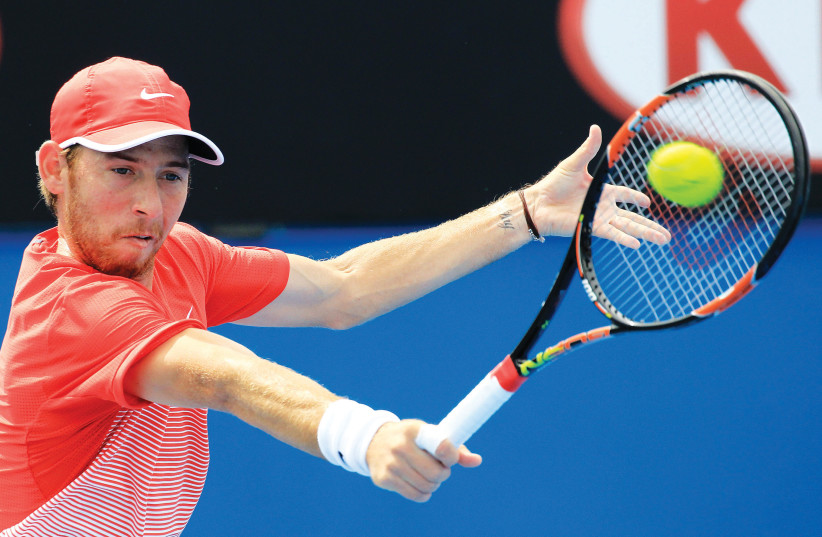 Israeli tennis player Dudi Sela. (photo credit: REUTERS)